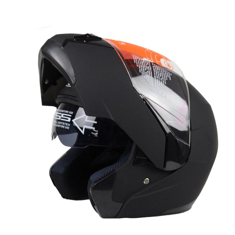 DOT ECE Affordable Safe Motocross Motorbike Full Face Helmet Motorcycle Helmet Flip Up Helmet with Inner Sun Visor S M L XL XXL(China (Mainland))