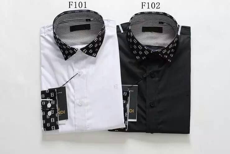 2015 Italian style man shirts long sleeve cotton Slim French cuffs smooth breathable wrinkle free fashion mens Dress shirts 3XL(China (Mainland))
