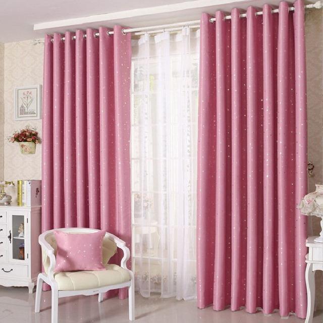 Cortinas para el dormitorio del estilo del verano de tela - Tipos de cortinas para dormitorio ...