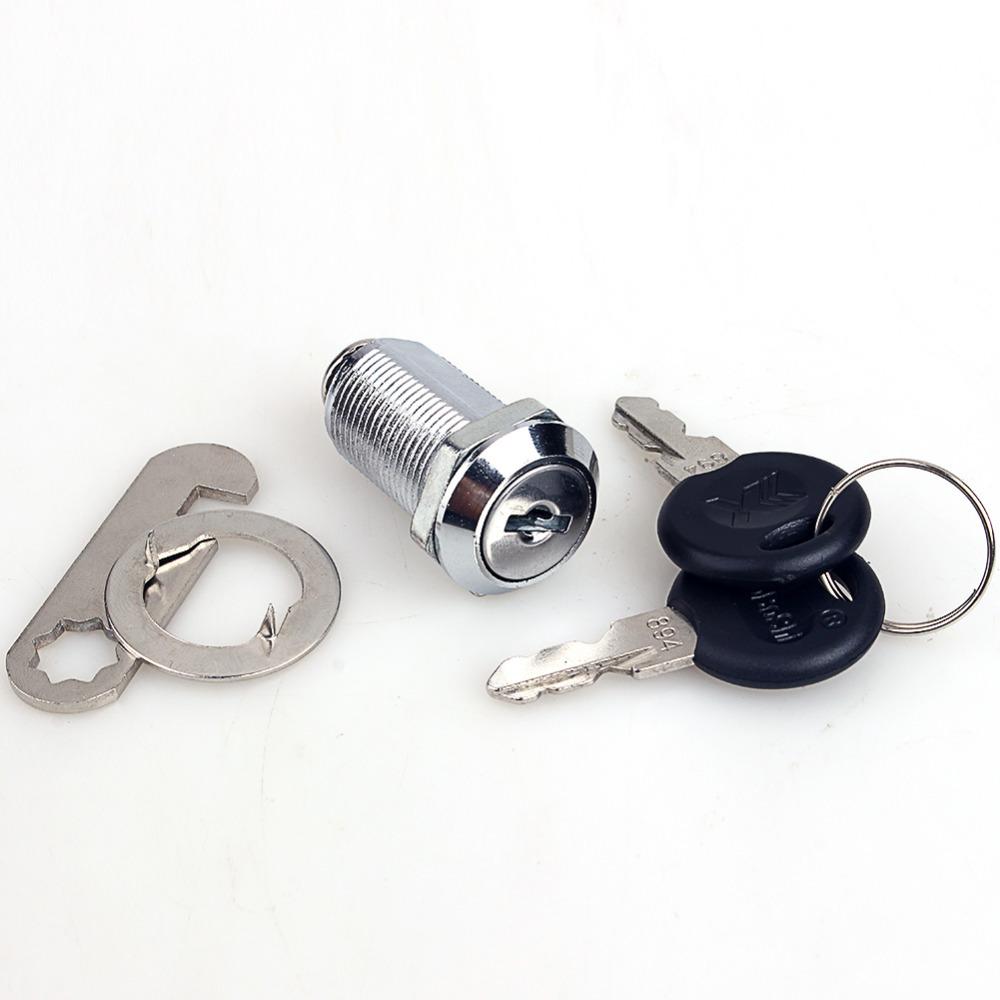 Cam Lock Safe Universal Cam Cylinder Locks Tool Box File Cabinet Desk Drawer