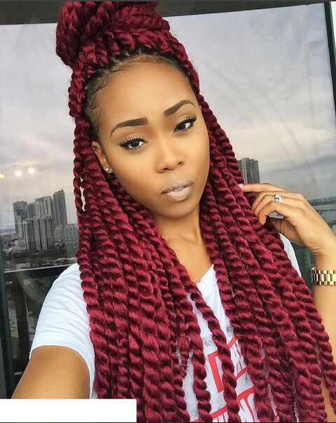 Crochet Red Hairstyles : Red Marley Hair Popular burgundy marley hair -buy cheap burgundy ...