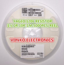 full reel 1% 1206 75K 1/4W SMD Chip Resistor 5000pcs/reel YAGEO New Original Fixed - Viinko Electronics store