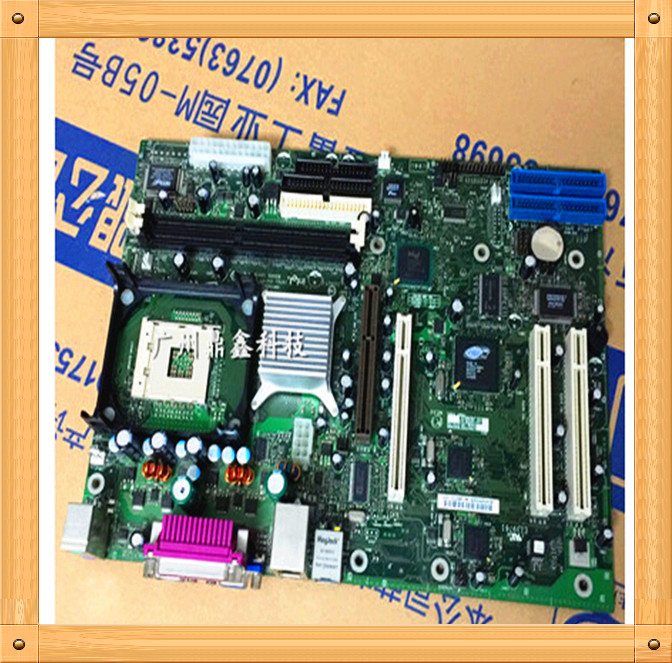 Free shipping Used S845WD1-E 478 dual intel motherboard integrated NIC S845WD1-E(China (Mainland))