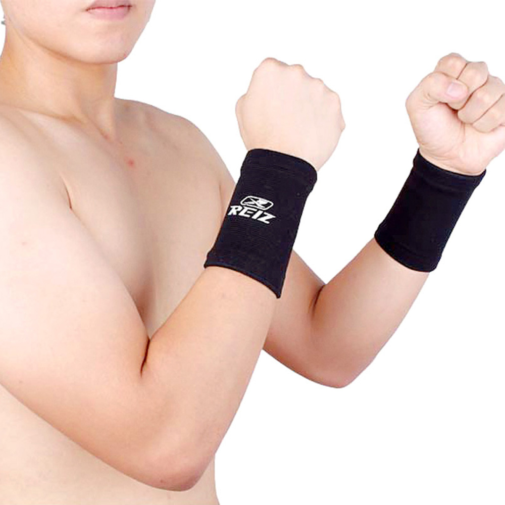 1 Pair Highly Elastic Wrist Support Basketball Tennis Wristband Sport Wrist Wraps Band Brace Athlete Fitness Equipment Bandage(China (Mainland))