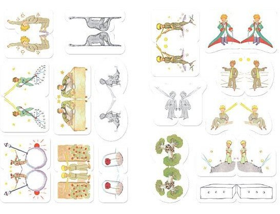Le petit prince hot new prince sticker cute note paper Decoration le petit prince