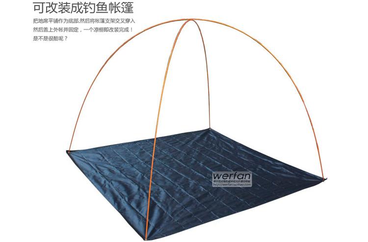 1 5 2 1 m 210d tapis de toile de tente parasol tissu v tements de pluie tanche tissu dans le. Black Bedroom Furniture Sets. Home Design Ideas