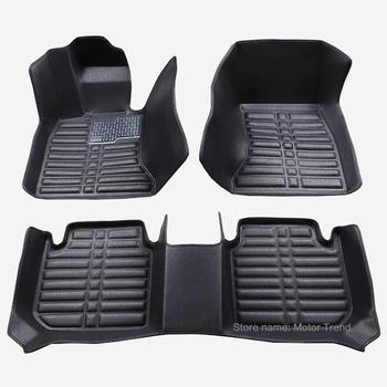 Custom fit car floor mats for Volvo C30 S40 S60L S80L V40 V60 XC60 XC90 3D car-styling heavy duty carpet floor liner RY229