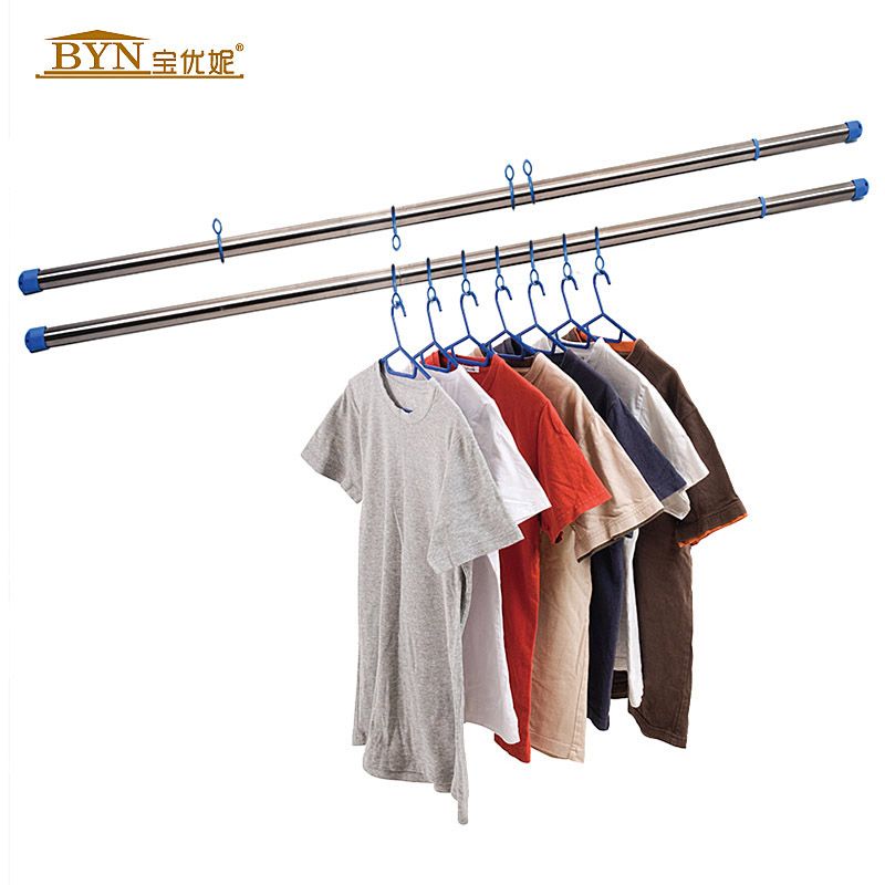 easy goods rods clothes drying rod balcony retractable. Black Bedroom Furniture Sets. Home Design Ideas