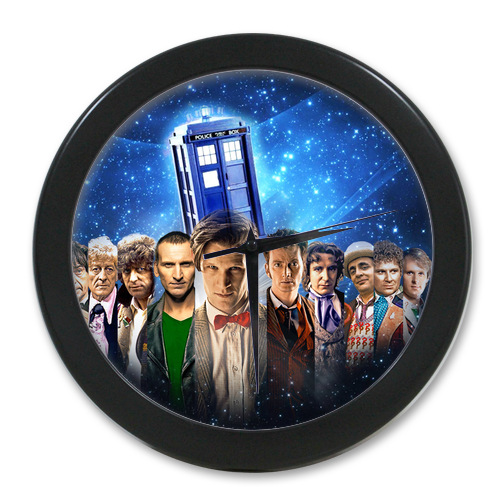 Original <font><b>Home</b></font> <font><b>Decoration</b></font> Customized Doctor Who <font><b>Elegant</b></font> Wall Clock Modern Design Watch Wall Free Shipping #LQ052