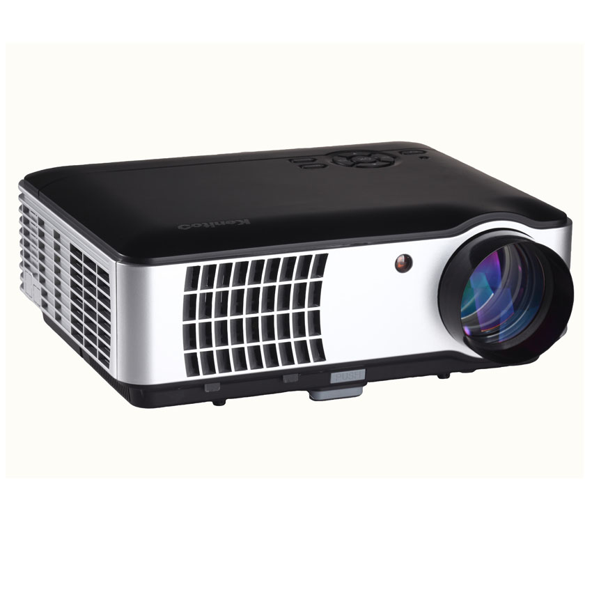 Free dhl gp9 mini projector 800lumens hd 3d beamer for Beamer portable