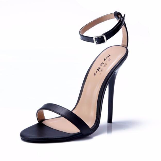 ซื้อ NoEnName_Nullผู้หญิงสีแดงด้านล่างรองเท้าส้นสูงเซ็กซี่ปั๊มสายรัดข้อเท้ากริชD 'O Rsayส้นฤดูร้อนรองเท้าผู้ชายเครื่องรางส้นสูง