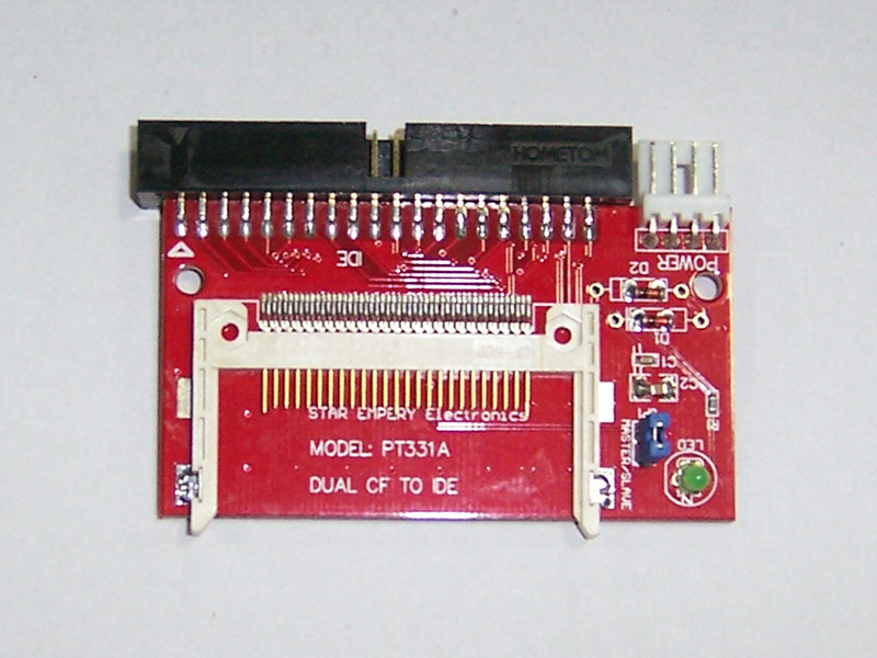 CF Compact Flash to 40 Pin IDE Adapter Bootable Disk(China (Mainland))