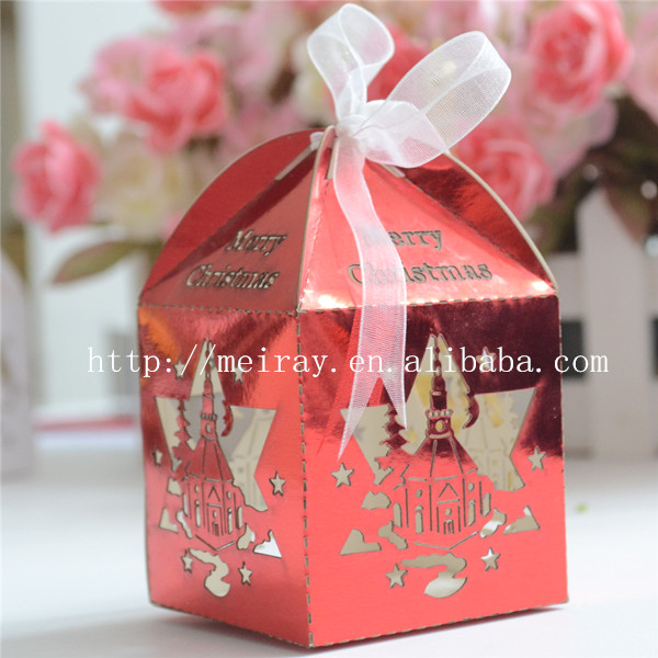 2015 hot christmas products best selling christmas decorations new year gifts candy boxes(China (Mainland))