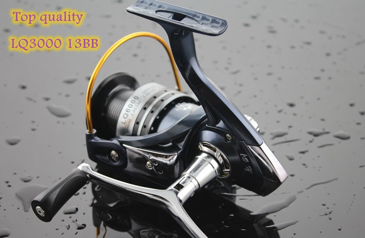 TOP Available !!LQ3000-13 1pcs Superior Baitrunner Carp Fishing Reels 12+1BB spinning reel TACKLE LINE with Spare rocker g0154(China (Mainland))