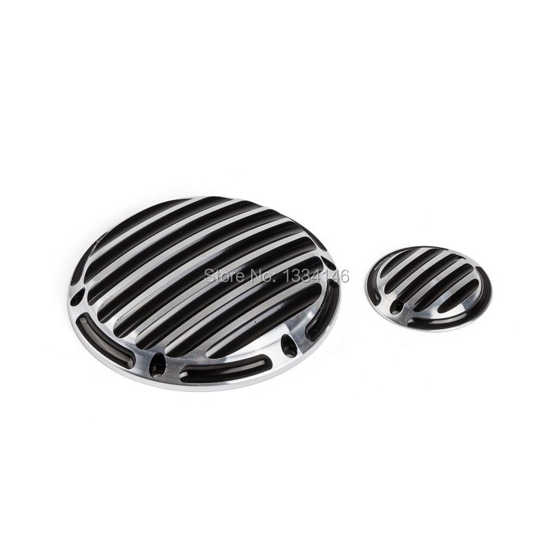 New Motorcycle Set Of CNC Derby Cover Timing Cover For Harley Sportster XL 883 1200 2004-2013 2014 2015