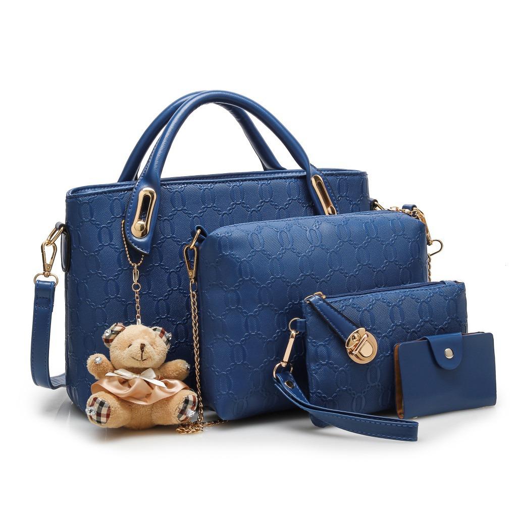 2015 Fashion Women bag Tote Women's Shoulder Bags Lady's Handbag Messenger Desigual Crossbody Bag 5 Sets(China (Mainland))