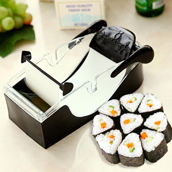 Best Selling Easy Sushi Maker Cutter Roller DIY Kitchen Perfect Magic Onigiri Roll Tool Sushi Mold Cooking Tools  NIE#(China (Mainland))