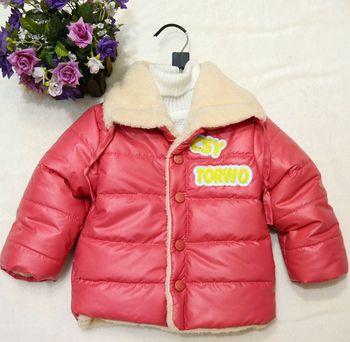 Новорожденный одежда младенцы Snowsuit зима толстый тёплый пальто для мальчики-младенцы и девочки полиуретан верхней одежды для новорожденного младенцы