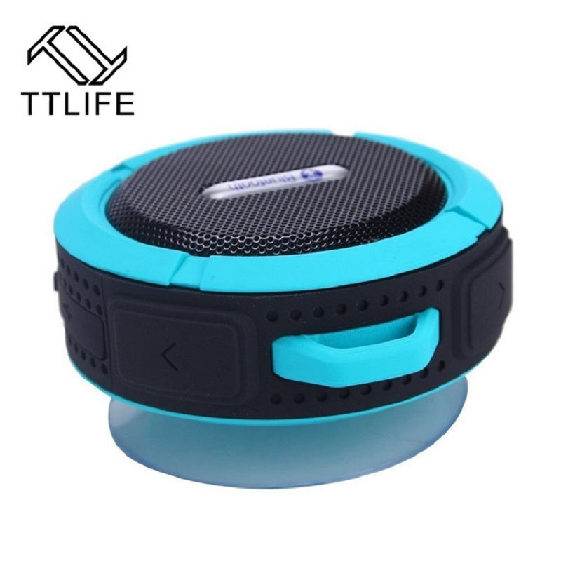TTLIFE New Mini Bluetooth Speaker C6 Portable Wireless Stereo Speakers Support SD Cards Bluetooth 3.0 Reciever MP3 Music Player(China (Mainland))