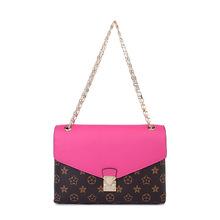 Famous Brands Louisvuigon Luxury Handbags Genuine Leather Women Bag Designer Chain Printing Messenger Bag Shoulder bag Crossbody