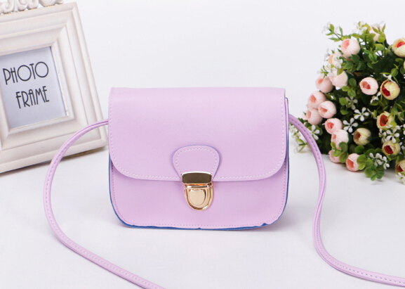 Free shipping/2015 Summer New/Candy color / Fashion small fresh / color side / latch packet /mobile phone bag/purse / 7 colors(China (Mainland))