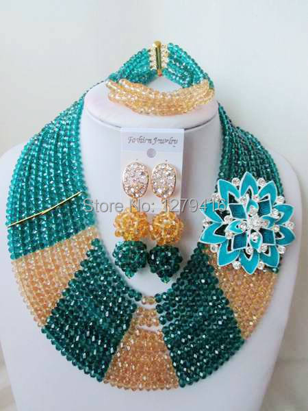 Classic  Fashion  crystal beads nigerian wedding african beads jewelry set costume jewelry sets  ASD955<br><br>Aliexpress