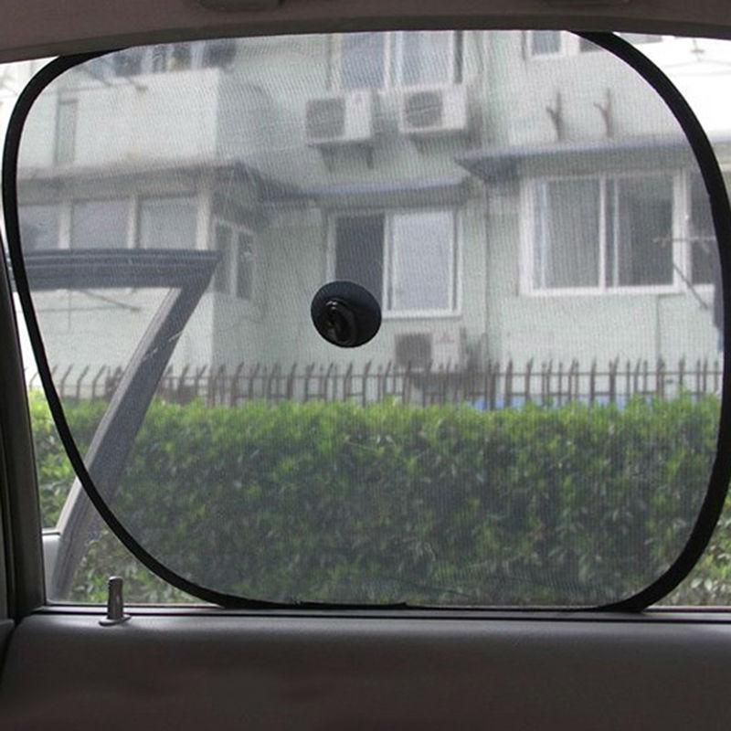 2015 New TWIN CAR WINDOW SUN SHADE VEHICLE TRUCK BABY PET DOG KIDS SHADE VISOR BLIND(China (Mainland))