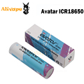 Original Avatar ICR18650 Battery 2000mAh 20A 3 6V For Box Mod EVIC VTWO Battery Mod Li