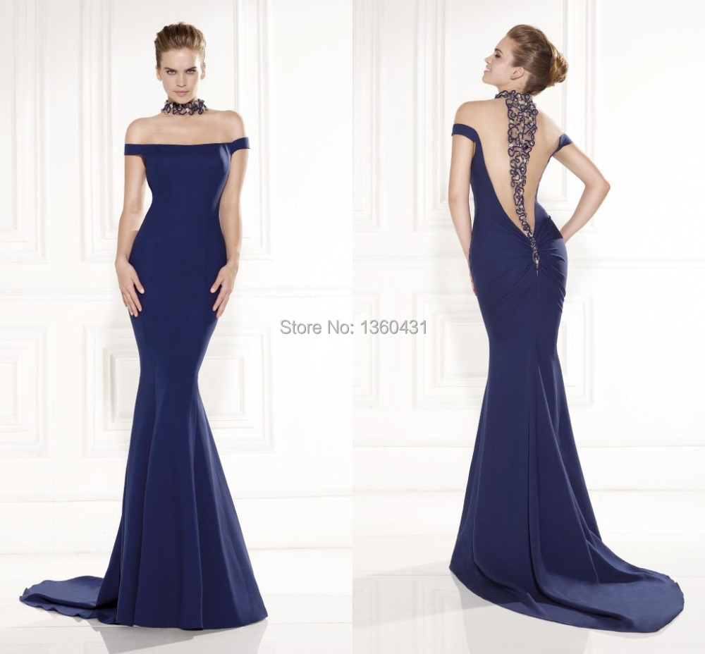 Luxury couture classic elegant evening gowns high sheath for High couture dresses