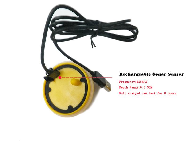 новый эхолот беспроводной fishfinder ff998 датчик