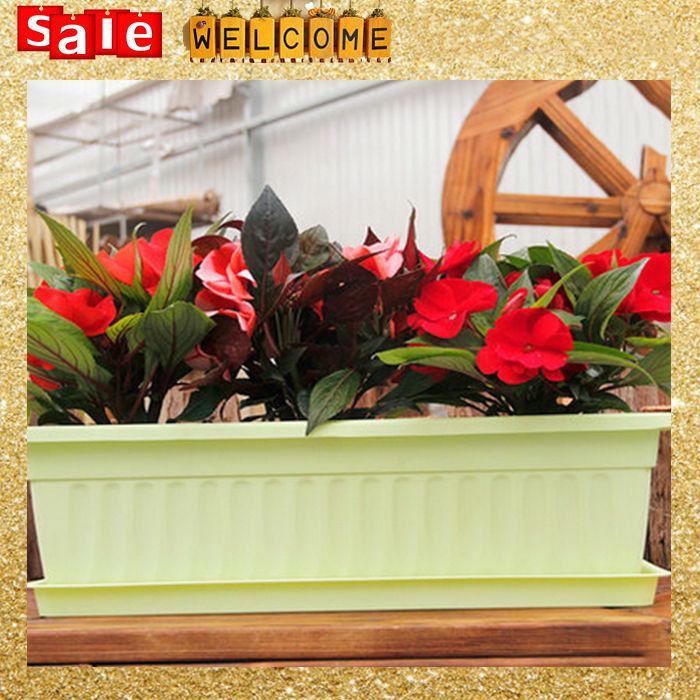 popular large rectangular planters buy cheap large rectangular planters lots from china large. Black Bedroom Furniture Sets. Home Design Ideas