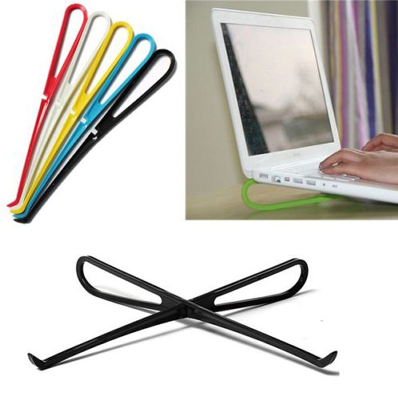 Portable Light Candy Color Laptop Notebook PC Cooling Pad Stand Holder Tool Free Shipping #69834(China (Mainland))