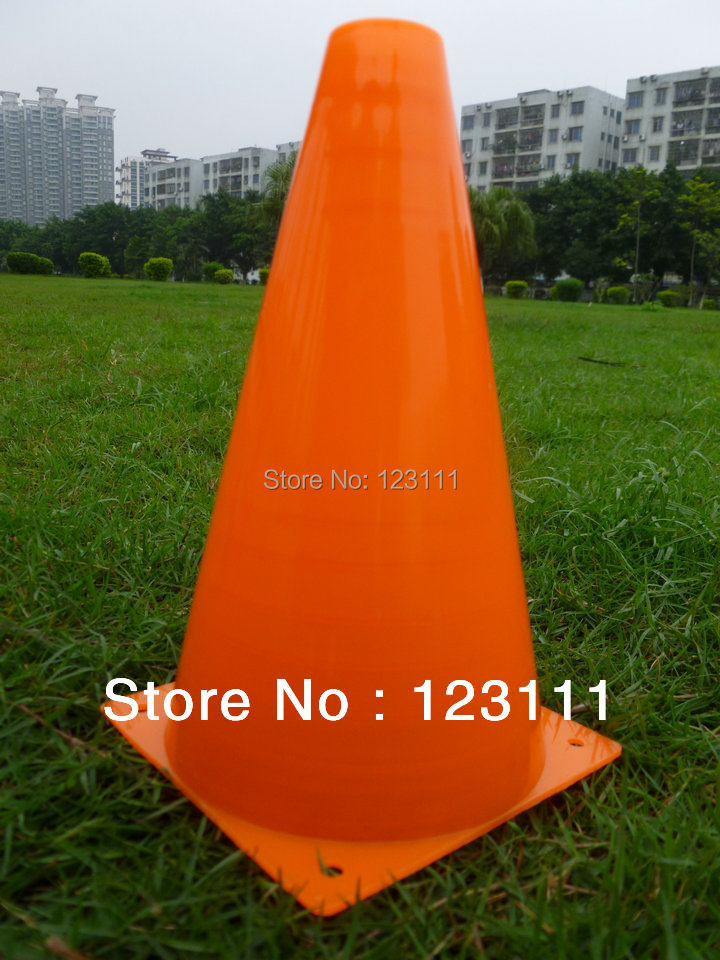 "7"" Soccer Football Cross Training Cones/Track,Sports Agility Marking Cone/Marker,Coaching/Training Aids Safety Versatile 200/lot(China (Mainland))"