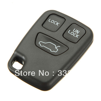 3 Button Remote Key FOB Replace Case Shell Cover For VOLVO S70 V70 C70 S40 V40 Free Shipping