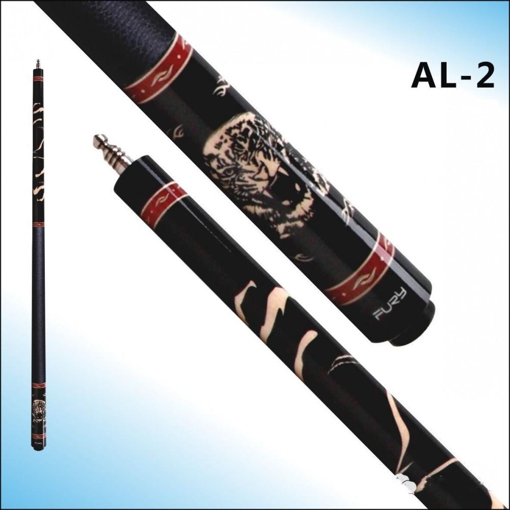 FURY Cue Beast Series Tiger American Pool Cue Stick 147 Billiards Maple wood leather Butt Sleeve AL-2(China (Mainland))