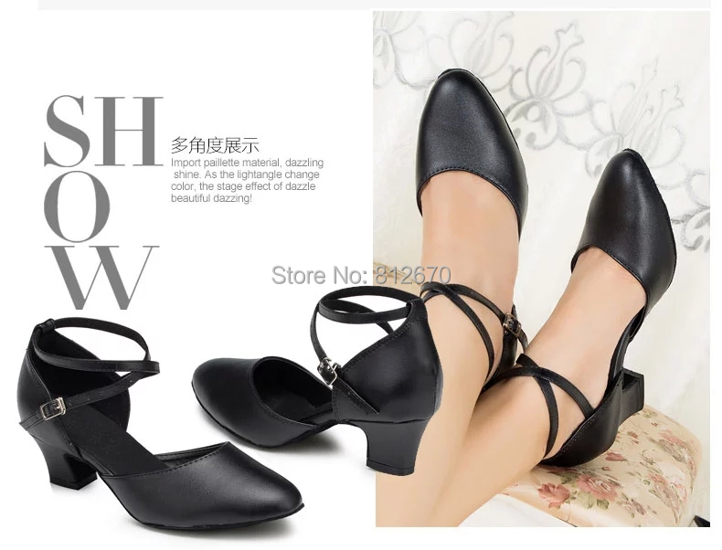 Simple Geniune leather Elegant Womens Latin dance shoes Ballroom dancing shoes Salsa Samba Tango Square dance shoes 6396<br><br>Aliexpress