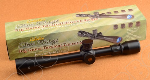 Cabelas pine ridge 6-18x40 SF rifle scope 25.4mm scope ring free shipping  M9287<br><br>Aliexpress