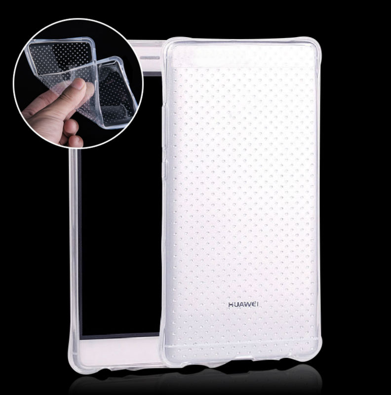 Soft Crystal Clear Case Huawei P8 P7 P9 LITE G8 / Honor 6 7 7i 4C 5C 4A 4X MATE 7/8 TPU Silicon Rubber Anti-knock Cover  -  ToolTech service centre store