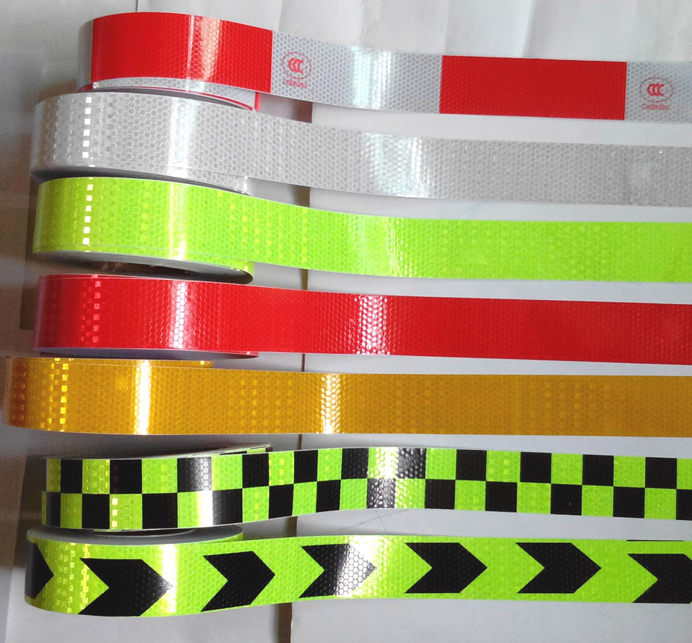 5CMx400CM,Reflective adhesive tape, Reflective tape sticker for Truck,Car,Motorcycle,Bike, safety use,13 models,Free shipping.(China (Mainland))