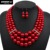 pearl necklace new fashion multi layer strand necklace women pearl bead statement necklace jewelry 1220