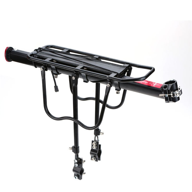 Aluminum Alloy Cycling Racks Bicycle Luggage Carrier MTB Bicycle Mountain Bike Road Bike Rear Rack Install Component(China (Mainland))