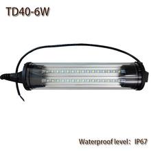 6W DC 24V/110V led work light waterproof IP67 explosion-proof energy saving Led work lamp LED Panel Light for CNC machine tools(China (Mainland))