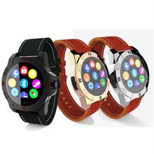 N10a бизнес Smartwatch смарт часы часы роскошный кожаный водонепроницаемый доказательство воды для iOS смартфонов iPhone