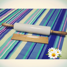 white marble rolling pin with wooden base and wooden handle(China (Mainland))