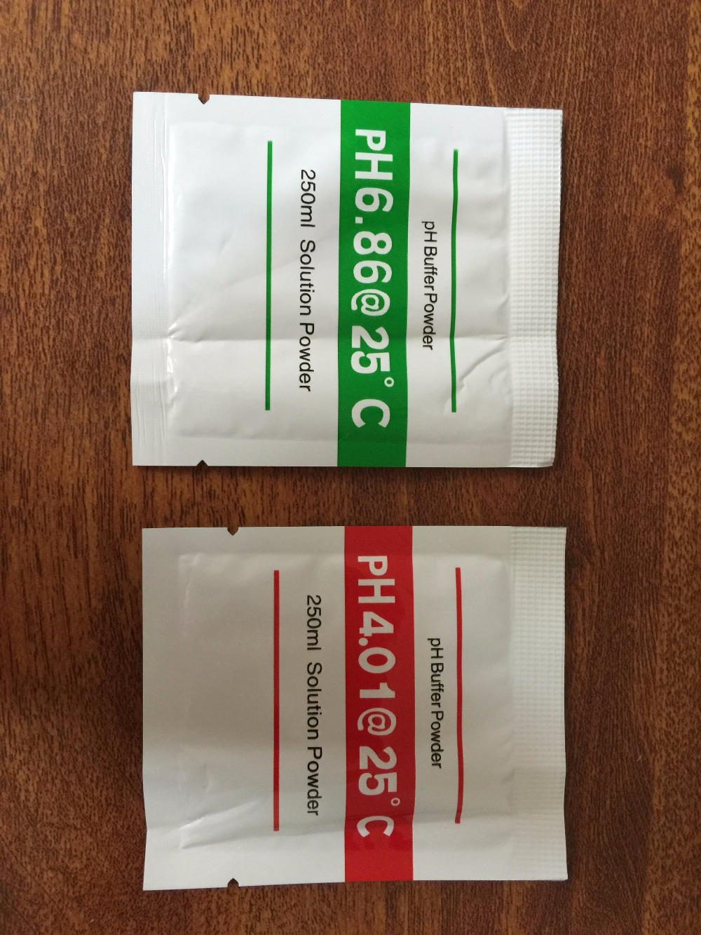 2 bags PH Buffer Powder for PH Test Meter Measure Calibration Solution 1pcs 4.01 and 1pcs 6.86 Calibration Point
