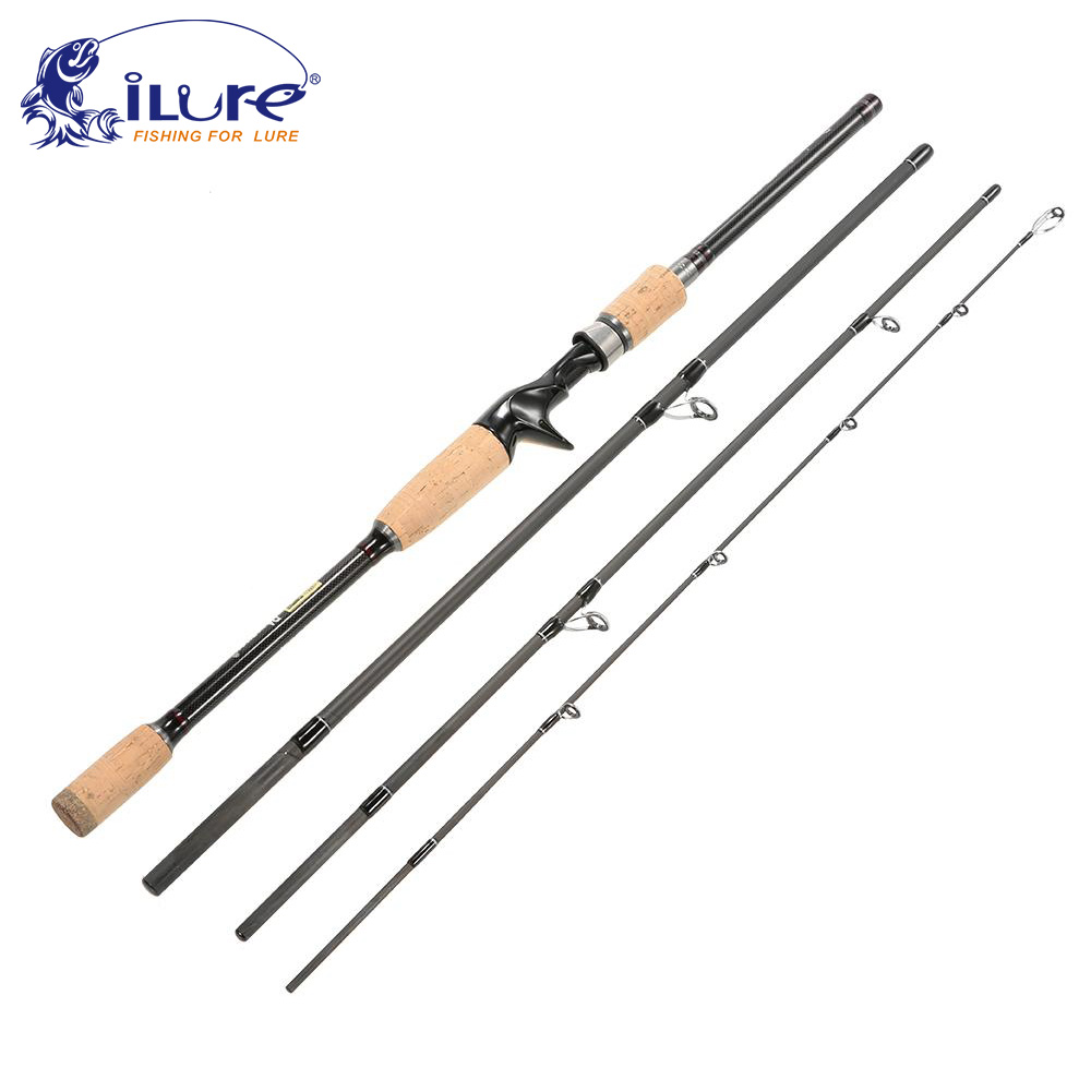 iLure fishing rod spinning fishing rod baitcasting rod 99% carbon telescope 1.8m 2.1m 2.4m 2.7m 3m angel fishing rod peche pesca(China (Mainland))