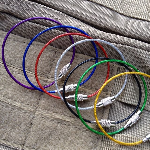 10 x High Quality Stainless Steel EDC Wire Hook