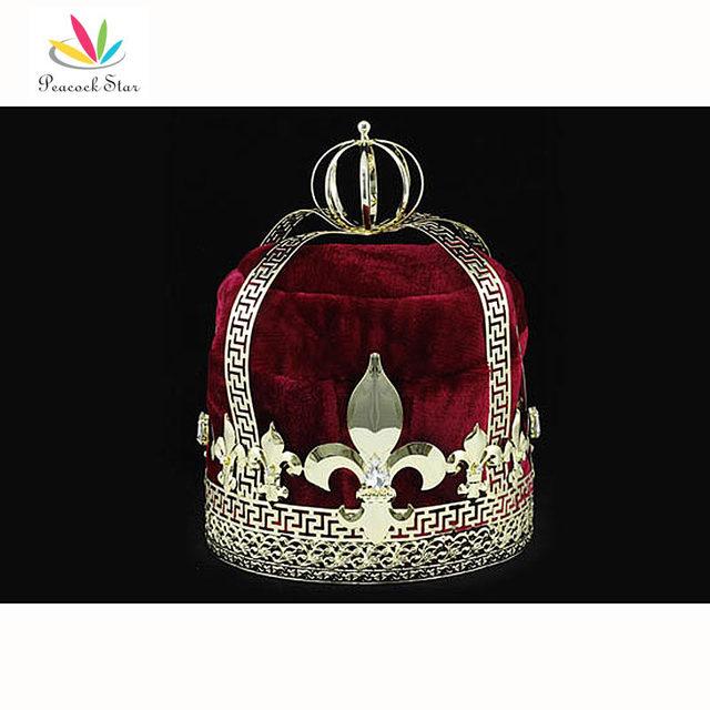 Бесплатная доставка мужская возвращения домой золото короля корона театрализованное ...