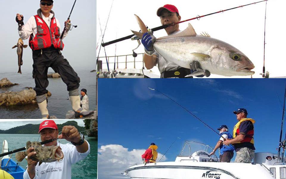 line рыбалка
