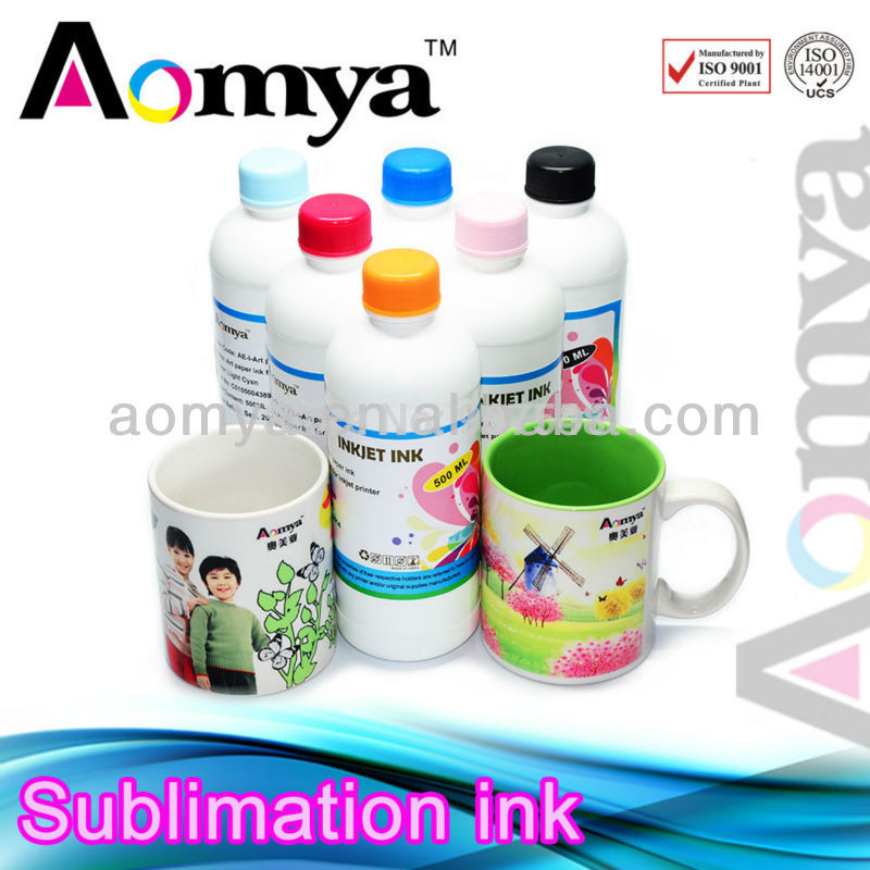High quality !!!heat transfer screen print ink for Epson R275/R390/R290/R270/T50 Sublimation ink 500ml  6colors<br><br>Aliexpress